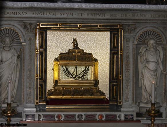 Cadenas de San Pedro en San Pietro in Víncoli Roma