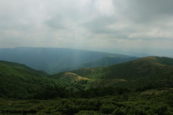 Vistas desde la cumbre de Matagalls